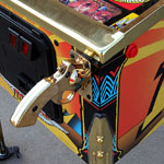 Collector Quality Indiana Jones Pinball Machine front