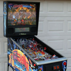Collector Quality Medieval Madness Pinball Machine side