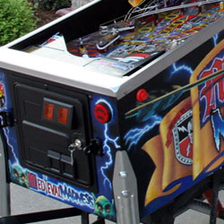 Collector Quality Medieval Madness Pinball Machine front