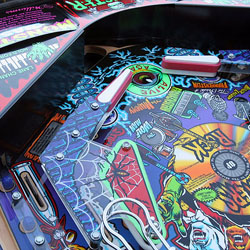 Collector Quality Monster Bash Pinball Machine video playfield