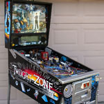 Collector Quality Twilight Zone Pinball Machine front