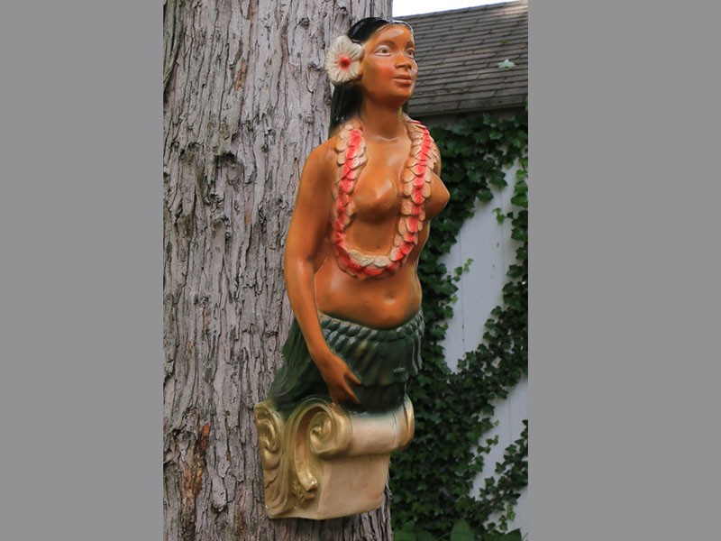 Ship Figurehead Tiki Statue Hula Girl Figurehead