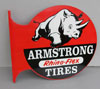 ARMSTRONG TIRES Rhino-Flex Flange Sign