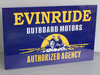 EVINRUDE OUTBOARD SIGN
