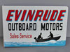 EVINRUDE OUTBOARD Sales and Service SIGN