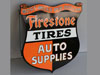 FIRESTONE AUTO PARTS Shield Sign