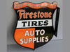 FIRESTONE AUTO PARTS Shield Flange Sign