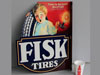 FISK TIRE FLANGE SIGN