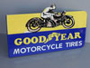 Goodyear Motorcycle Tires Sign