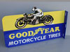 Goodyear Motorcycle Tires Flange Sign