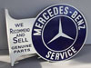 MERCEDES BENZ SERVICE Sign