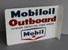 MOBILOIL OUTBOARD Sign