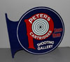 PETERS AMMUNITION Shooting Gallery Sign