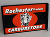 Rochester Products Carburetors Flange Sign