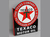 TEXACO RED STAR MOTOR OIL Sign