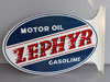 ZEPHYR MOTOR OIL & GAS Sign