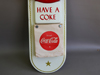 1955 Coca Cola In Bottles Calendar Sign