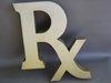 RX Drug Store 3D Letter Sign