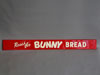 BUNNY BREAD Embossed Door Push Sign