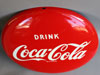 "Coca Cola 12"" Button Sign"