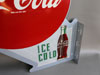 Coca Cola Flange Sign
