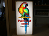 POLL PARROT SHOES Light Up Sign