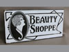 Beauty shop sign